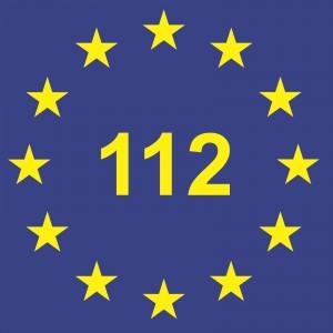 """""""Logo-notruf-112-europaweit"""" von EuropeDirect - Eigenes Werk. Lizenziert unter CC BY-SA 3.0 über Wikimedia Commons - https://commons.wikimedia.org/wiki/File:Logo-notruf-112-europaweit.JPG#/media/File:Logo-notruf-112-europaweit.JPG"""